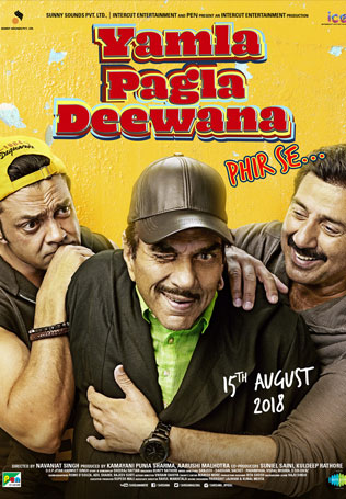 YamlaPaglaDeewanaPhirrSe-Poster-TheLastReview