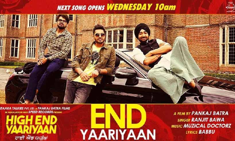 highendyaariyan-title-track-on-wednesday-thelastreview