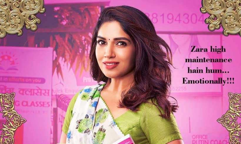 bhumi-pednekar-first-look-from-pati-patni-aur-woh-thelastreview