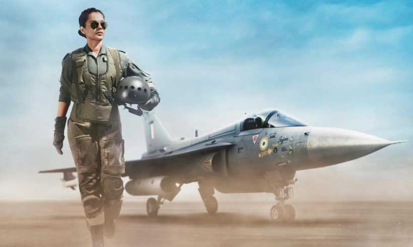 kangana-frist-look-in-tejas-thelastreview