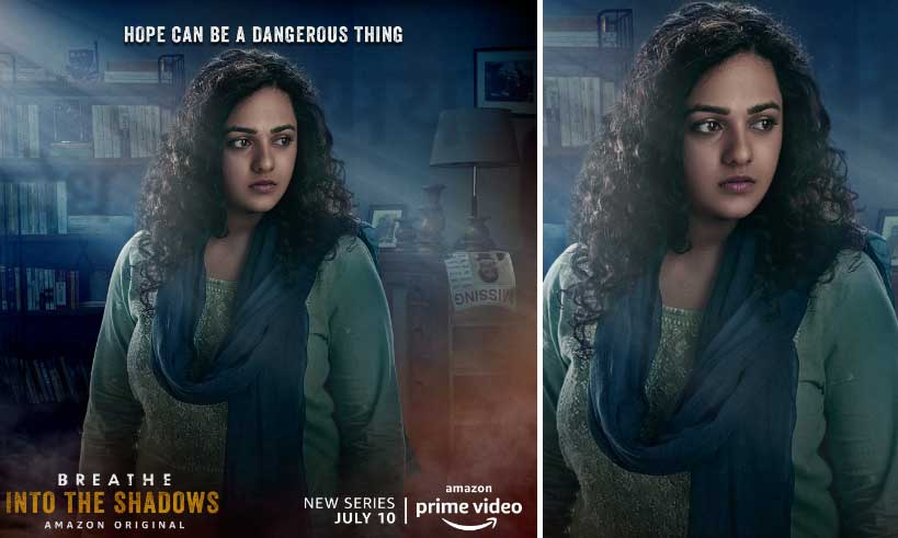 nithya-menen-first-look-poster-breathe-into-the-shadows-thelastreview
