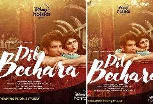 sushant-singh-rajput-dil-bechara-on-24th-july-thelastreview